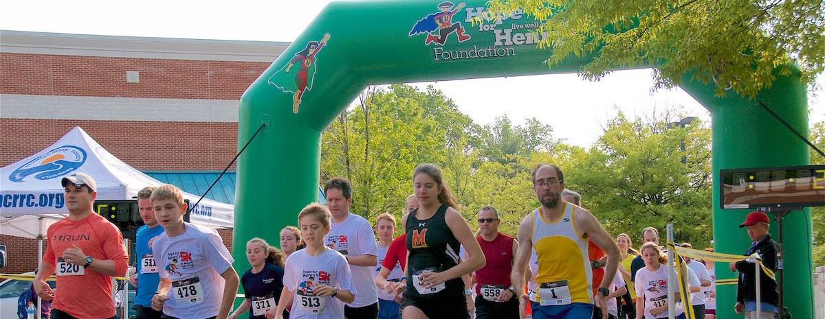 Hope for Henry Mother's Day 5K to Make a Kid's Day